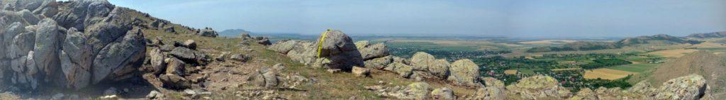 Panorama de pe Tutuianu