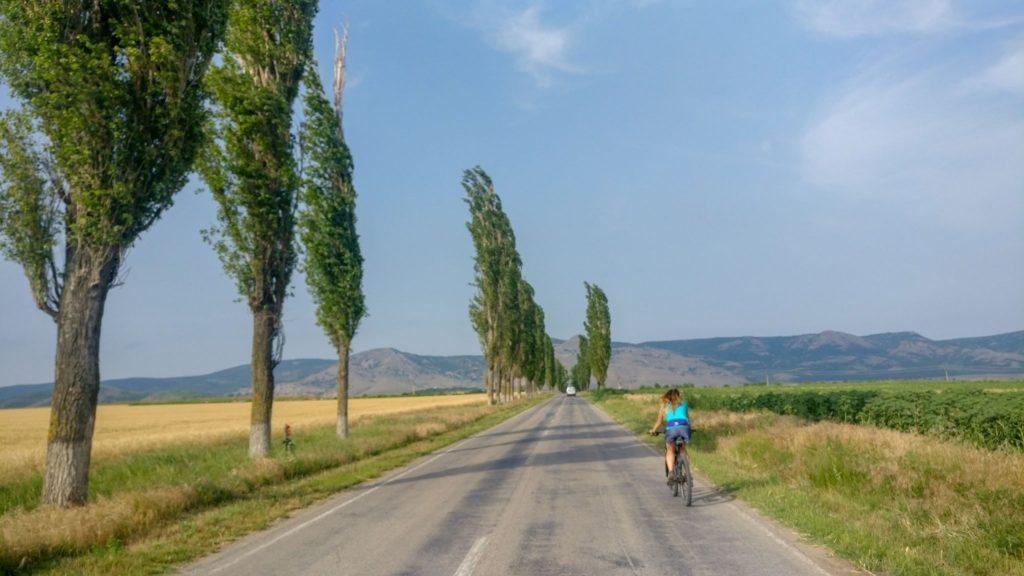 Intrarea in satul Greci