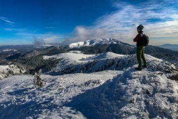 Prima zapada pe 2018 pe varful Ciucas