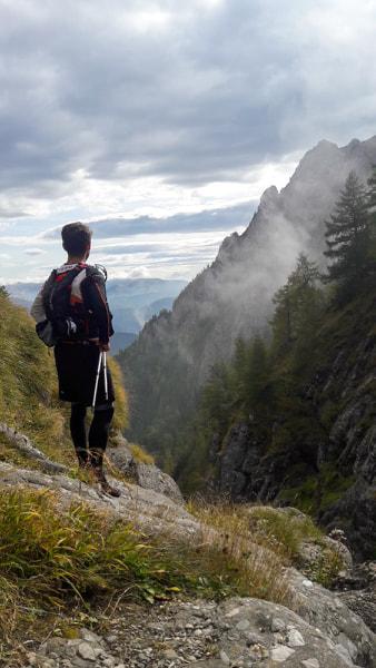 Urcarea pe Valea Morarului
