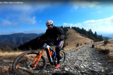 Tura de E-Bike in ianuarie, pe traseul BikeXpert Alpine Challenge
