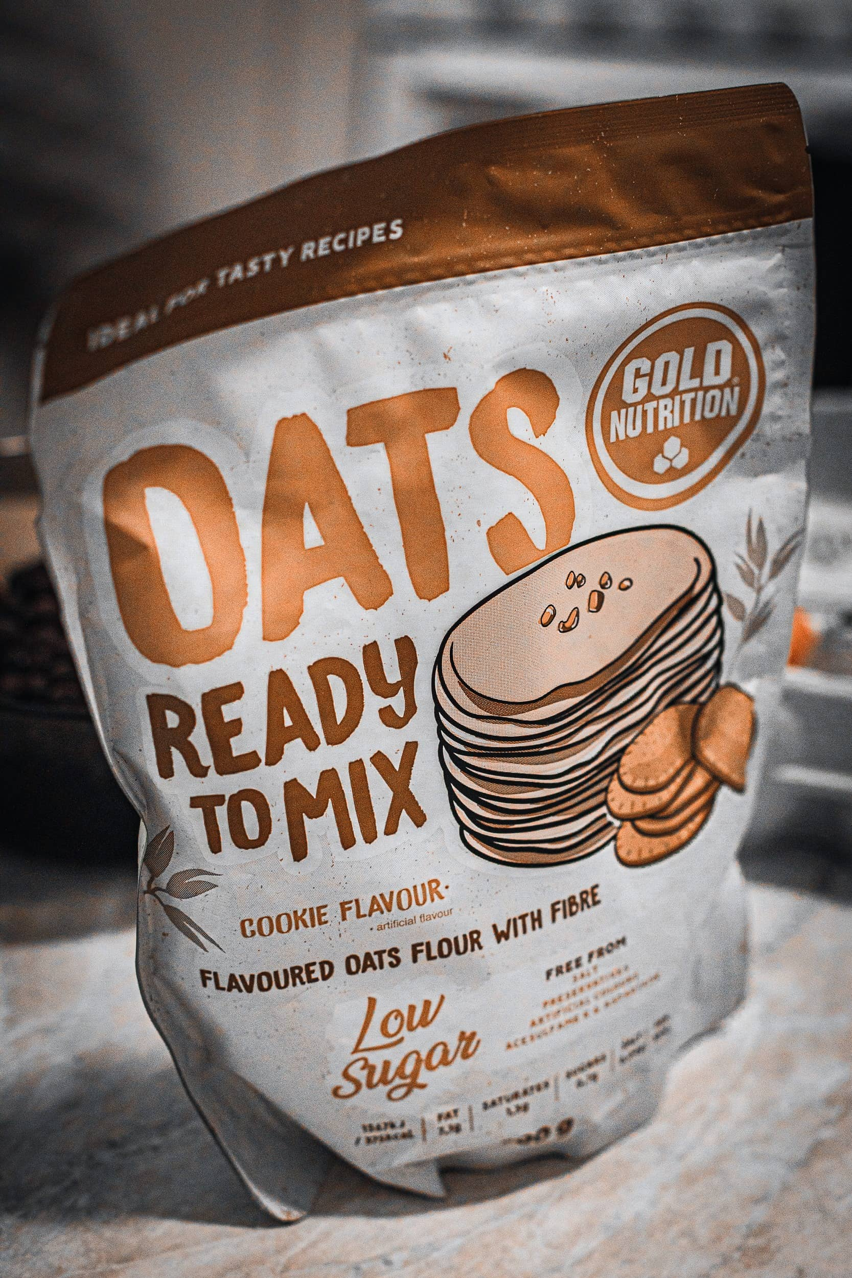 Gold Nutrtion Oats Ready to Mix Cookies