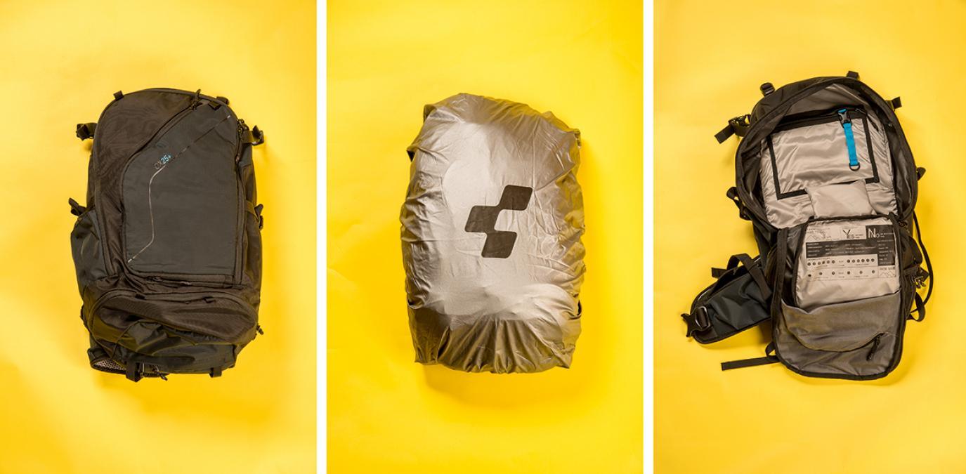husa integrata de ploaie - rucsacul cube ox25+ | thebikepoint.ro