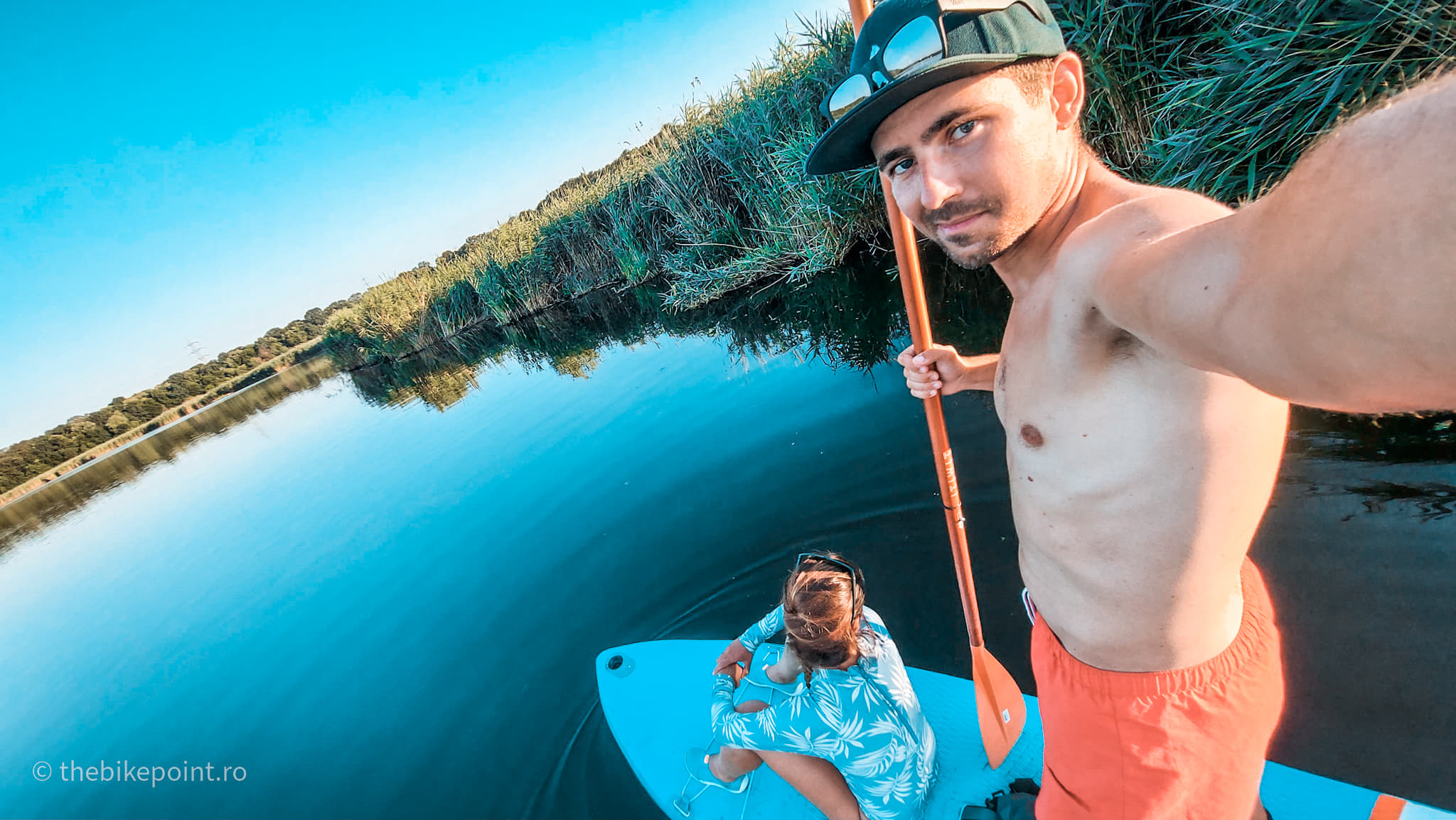 Am indraznit si un mic selfie pe SUP