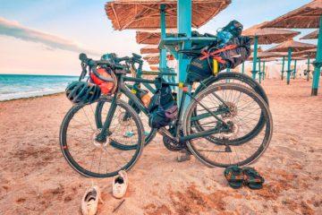 Bikecpacking in Vama Veche, video