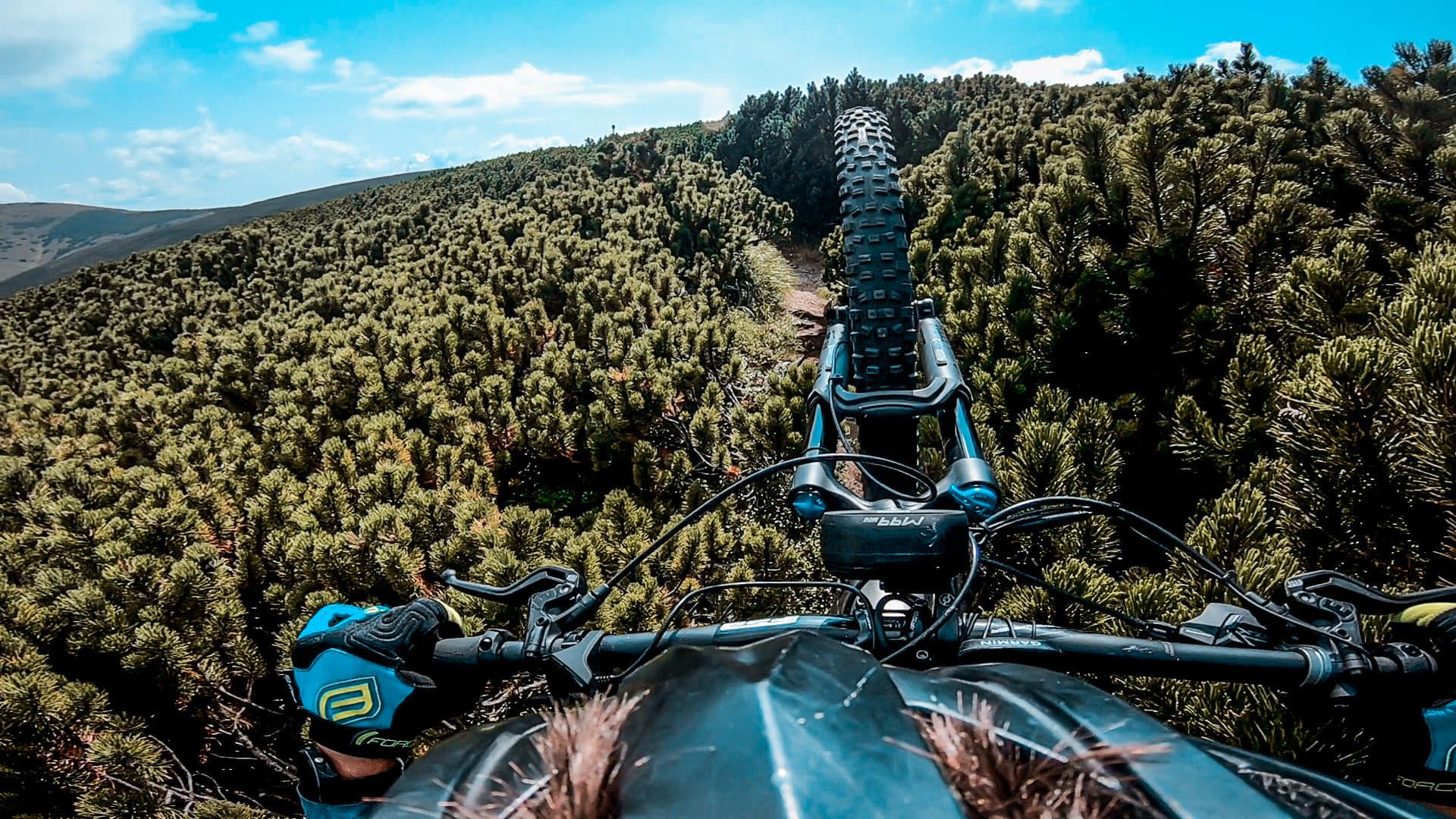 Evident ca am facut si putin push bike, prin jnepenii de la Batrana