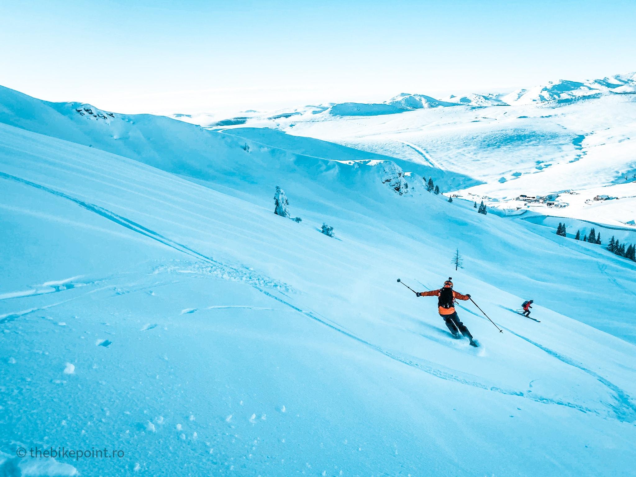 Prima zi de schi de tura din pandemie - thebikepoint.ro