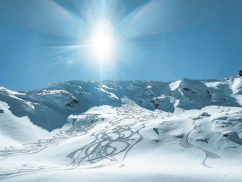 Priveliștea din valea Doamnei