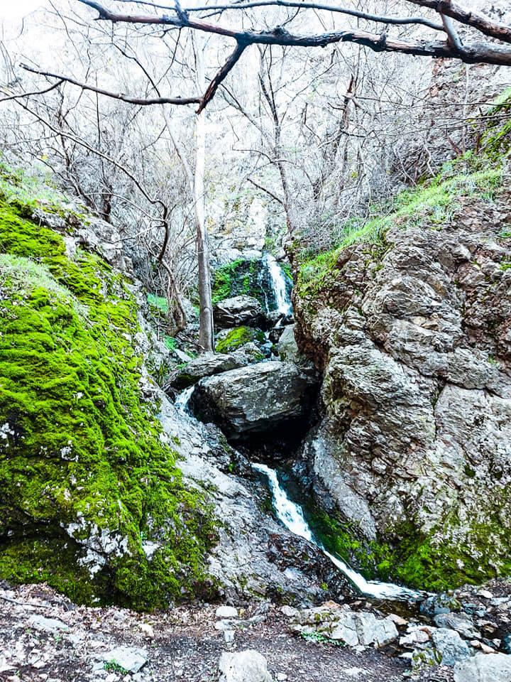 Cascada din CHeile Chediului